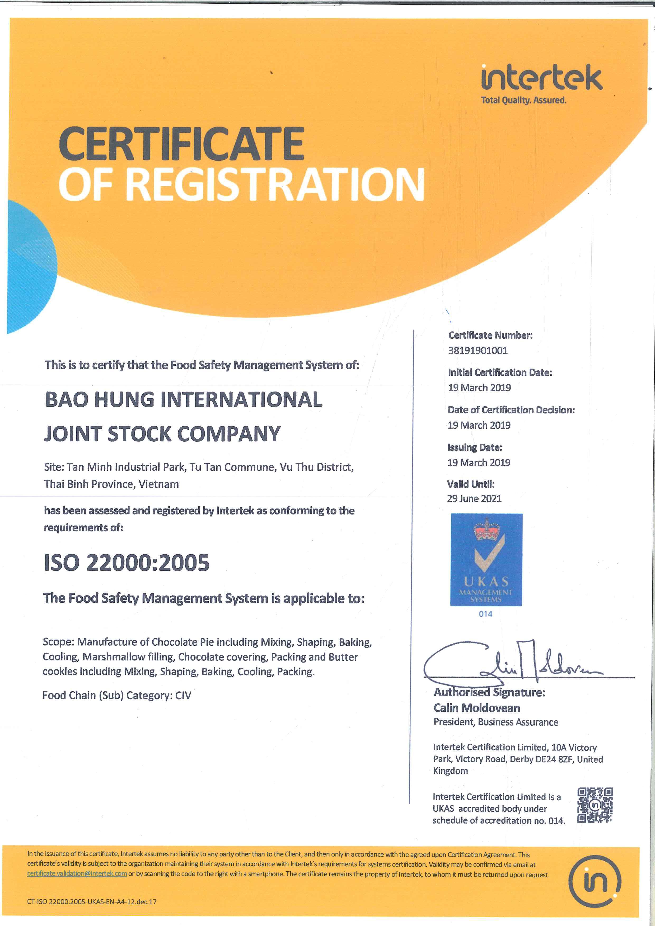 Giấy-chứng-nhận-ISO-22000---2005