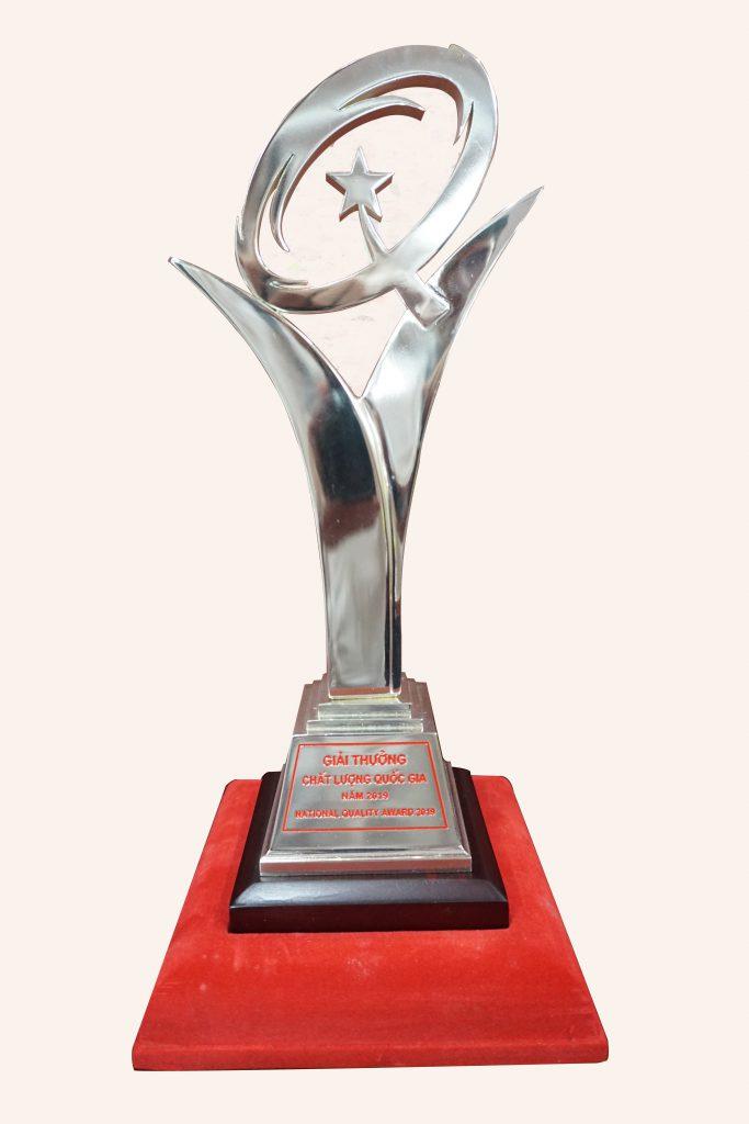 Cúp Giải thưởng Chất lượng Quốc Gia năm 2019